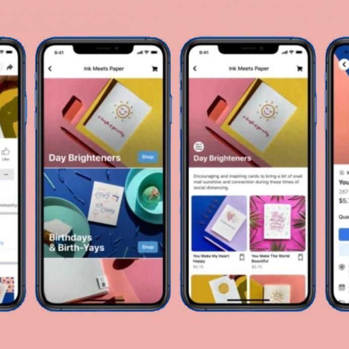 Facebook Shops: créez votre boutique en ligne